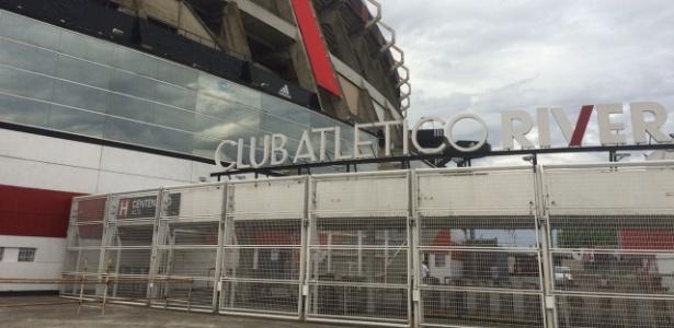 Monumental de Nuñez recebeu Copa de 1978 e divide opiniões em Buenos Aires - Leandro Miranda/UOL