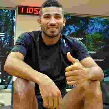 Rojas, durante tratamento no Reffis do São Paulo - Érico Leonan / saopaulofc.net