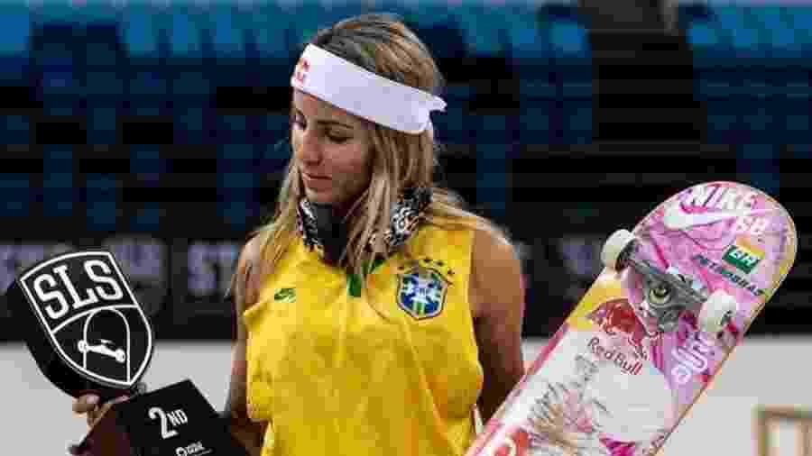 Letícia Bufoni conquistou o vice-campeonato Mundial no Rio de Janeiro - Reprodução/Instagram