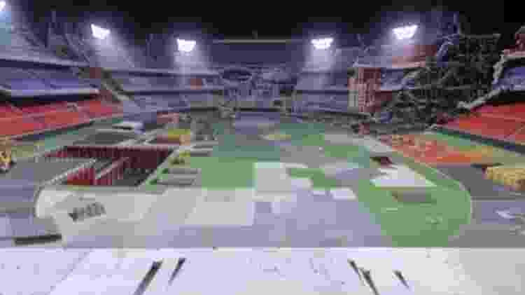 Estádio olímpico akira 2020 - Reprodução - Reprodução