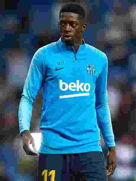 Dembélé, atacante do Barcelona - Quality Sport Images/Getty Images