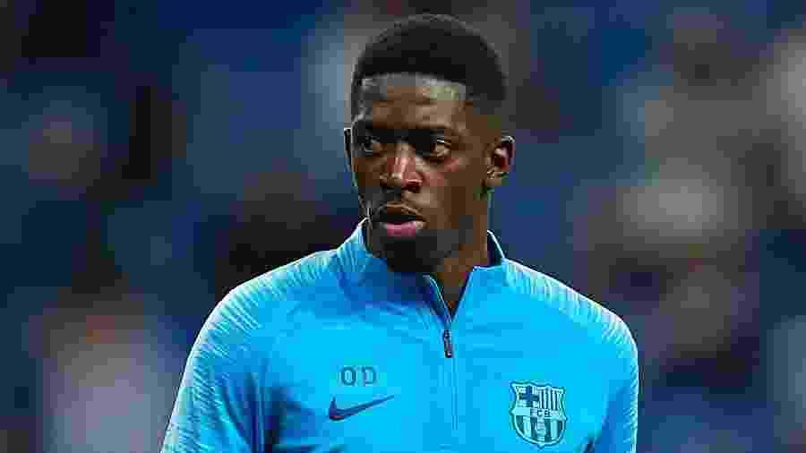 Dembélé, atacante do Barcelona, pode deixar o clube na próxima janela de transferências - Quality Sport Images/Getty Images