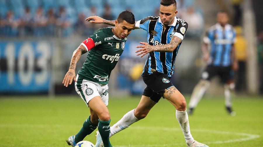 Grêmio empata no fim, e Palmeiras perde vice-liderança do Brasileirão - Palmeiras
