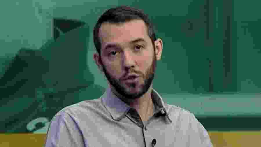 Gustavo Hofman na ESPN - Reprodução/ESPN Brasil