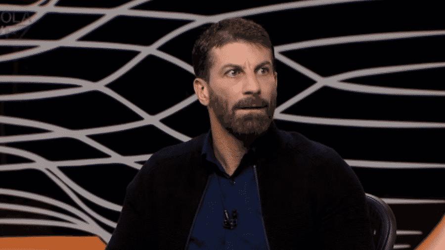 O ex-jogador Pedrinho será comentarista do Grupo Globo - reprodução/ESPN Brasil