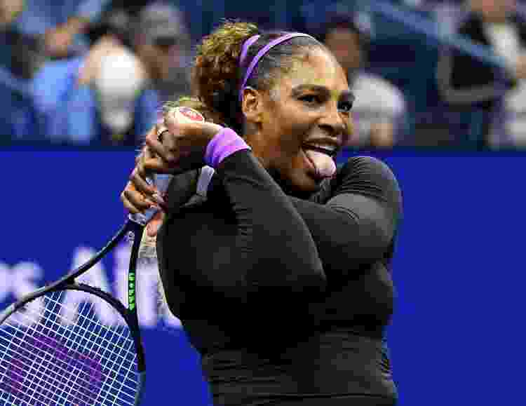 Serena Williams faz careta durante jogo no US Open, em 2019 - Robert Deutsch/USA Today - Robert Deutsch/USA Today