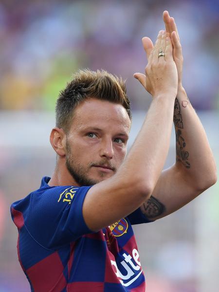 Rakitic, jogador do Barcelona - Josep LAGO / AFP