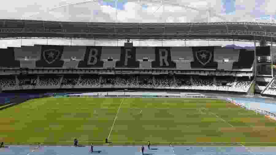 Estádio Nilton Santos - Leo Burlá/UOL