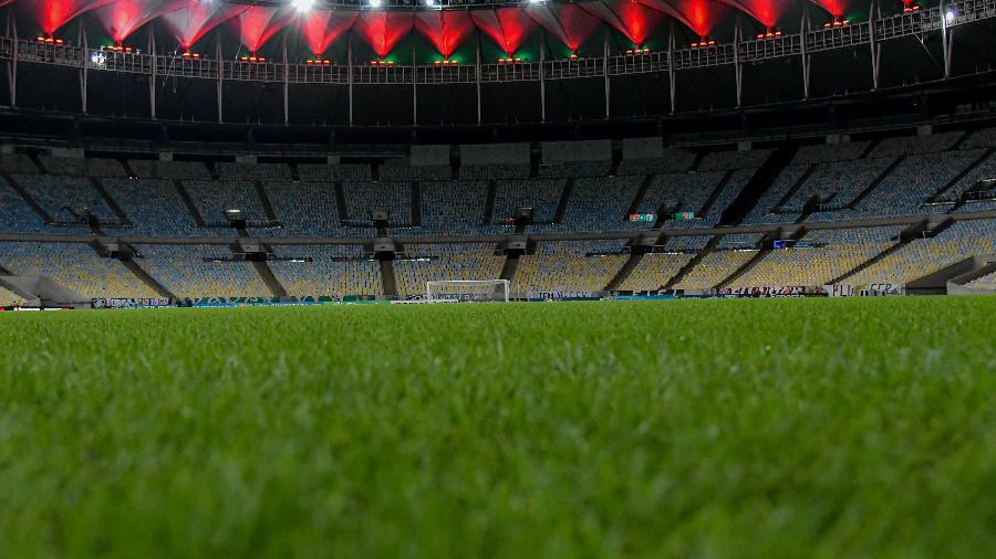 Mário Filho deixaria de ser o nome oficial do estádio, que passaria a se chamar Edson Arantes do Nascimento - Rei Pelé - Thiago Ribeiro/AGIF