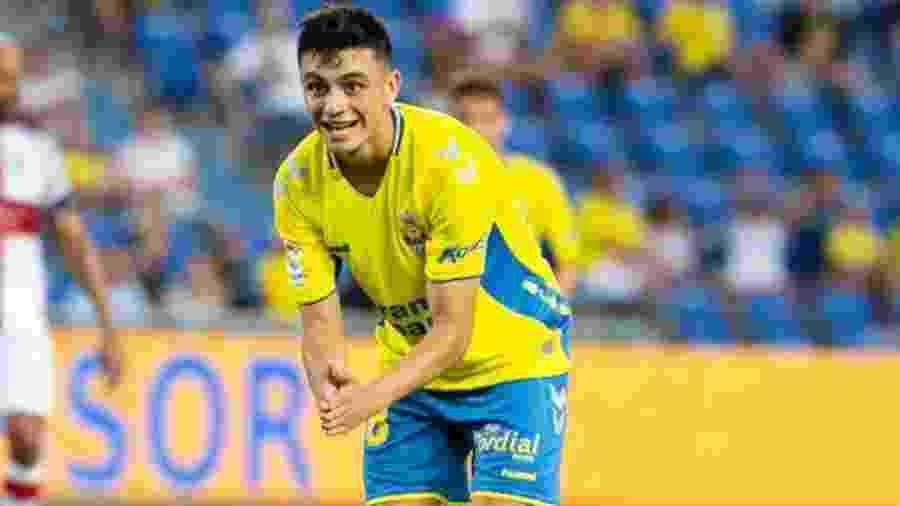 Pedri González, ex-jogador do Las Palmas e novo reforço do Barcelona - Divulgação/Las Palmas