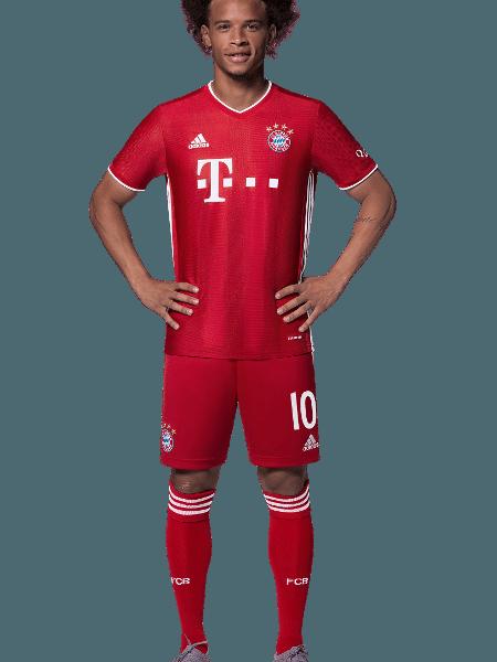 Leroy Sané, atacante do Bayern de Munique - Divulgação/Site oficial do Bayern de Munique