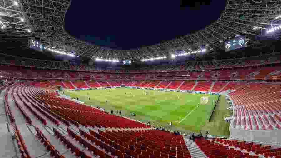 Partida será realizada na Puskas Arena, em Budapeste (Hungria) - Laszlo Szirtesi/Getty Images
