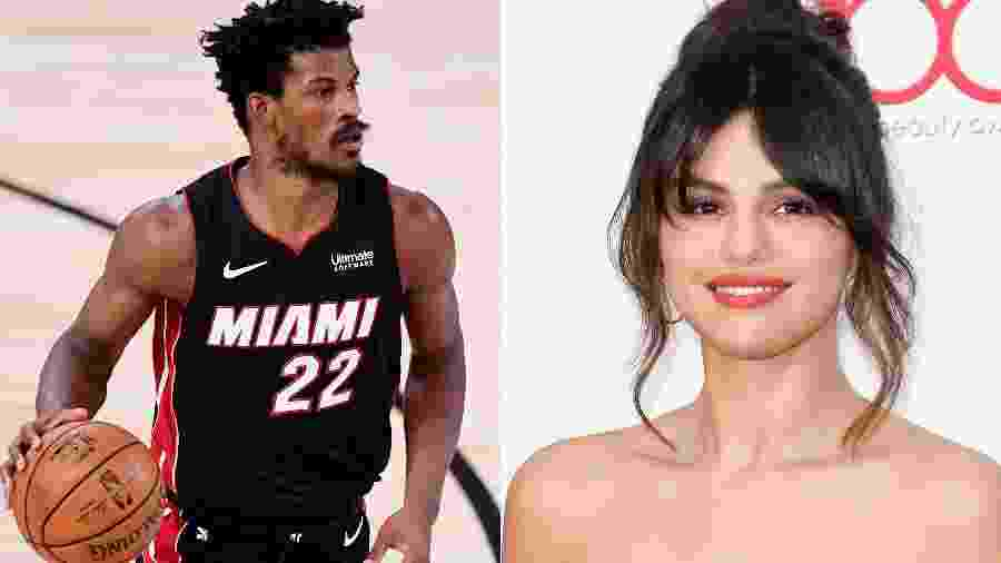 Jimmy Butler e Selena Gomez - Getty Images