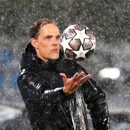 Thomas Tuchel , treinador do Chelsea - SERGIO PEREZ/REUTERS