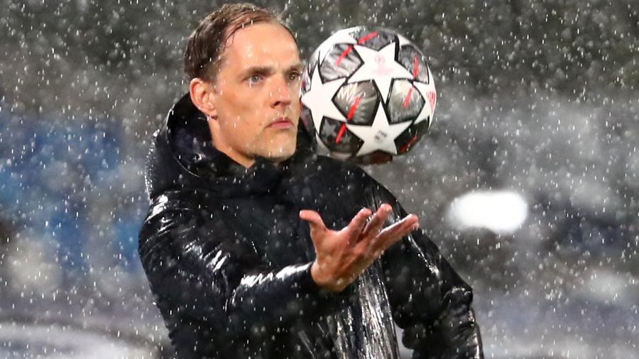 Thomas Tuchel ainda não completou nem 4 meses de Chelsea - SERGIO PEREZ/REUTERS