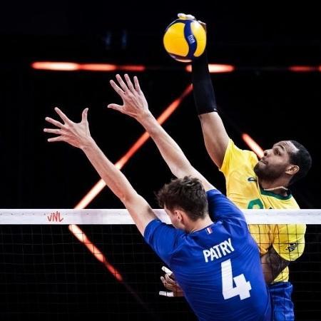 Brasil sofre a primeira derrota na Liga das Nações - Divulgação/FIVB