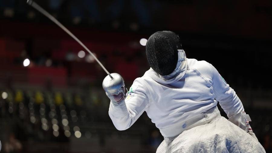 Jovane Guissone está nas semifinais da espada na categoria B - Takuma Matsushita/CPB