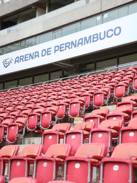 Setor de cadeiras da Arena Pernambuco - Hesíodo Góes