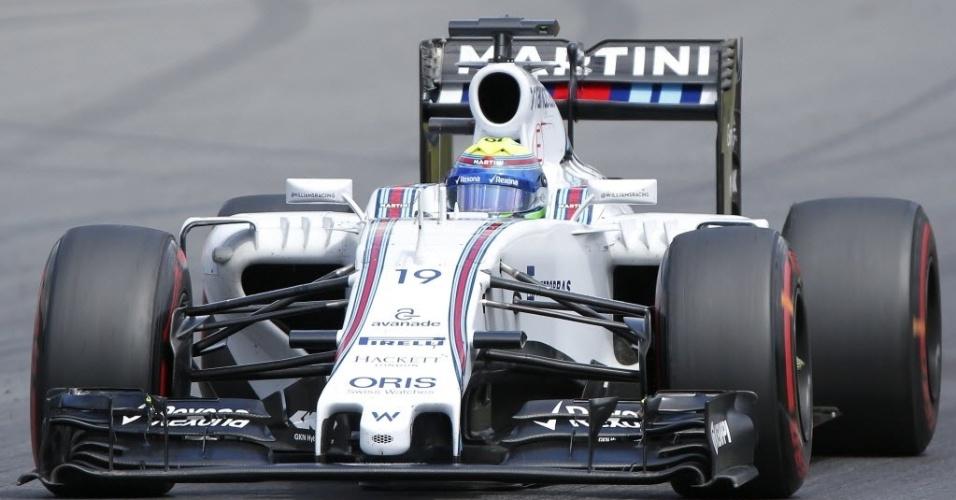 Massa largou em quarto no GP da Áustria e disputa a terceira colocação com Vettel