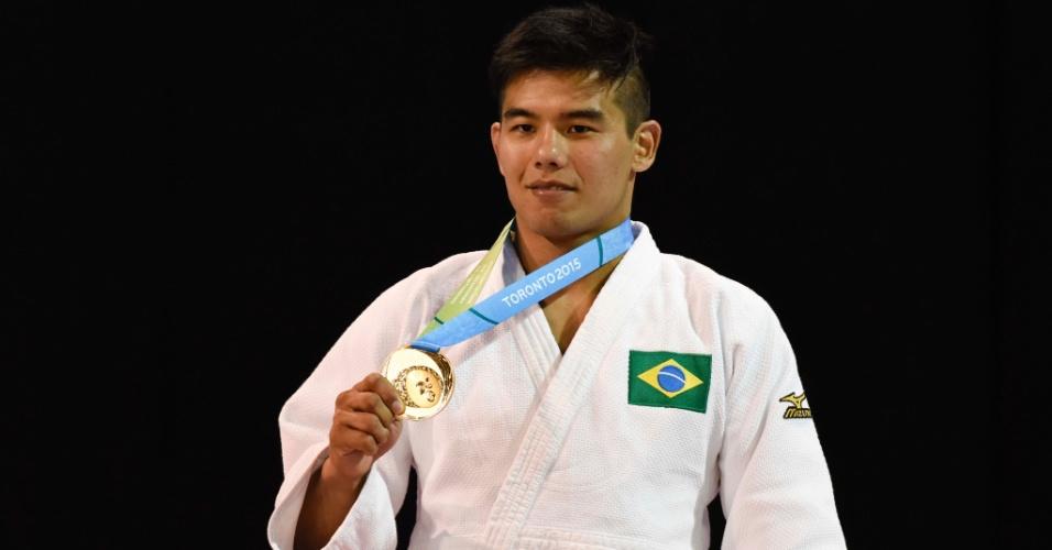 Chibana conquista a medalha de ouro no judô no Pan de Toronto