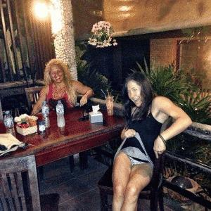 Angela Magana mostra calcinha - e posta no Instagram - Reprodução/Instagram