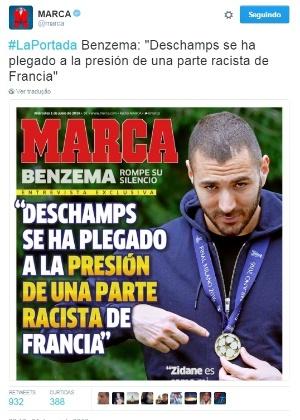 Reprodução/Jornal Marca