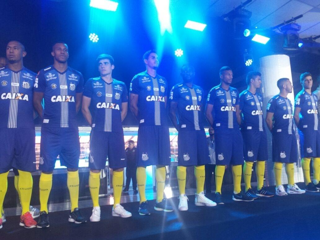 Santos fecha patrocínio com a Caixa - Esporte - BOL 60487377f4b33