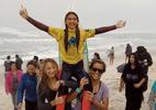 Irmã de Medina conquista dois títulos em etapa de surfe em Maresias - Reprodução/Instagram