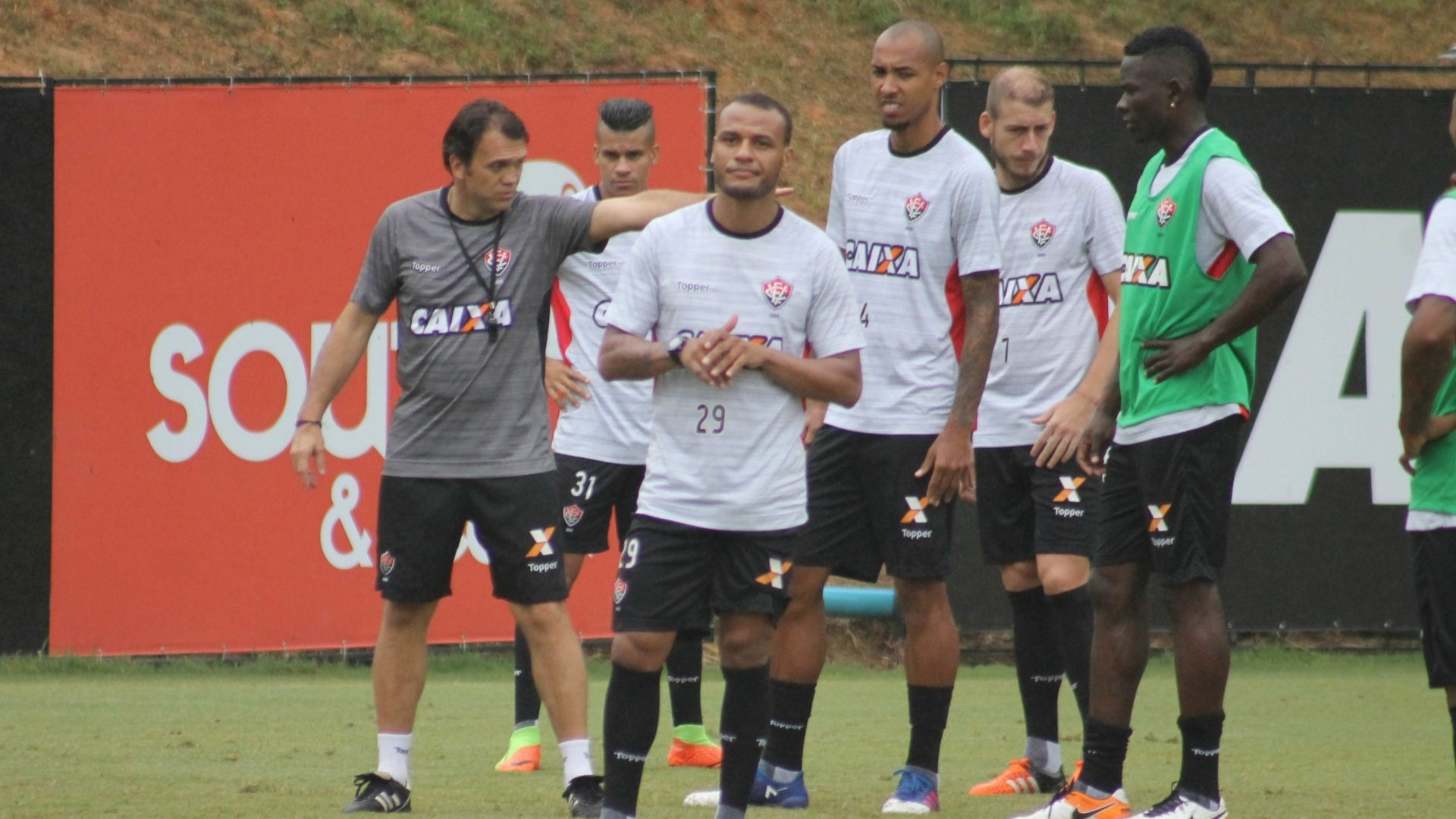 Petkovic treinando o Vitória
