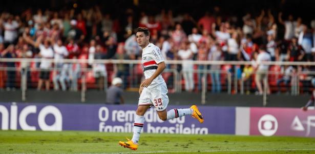 Marcinho tem um gol e duas assistências em oito jogos pelo São Paulo
