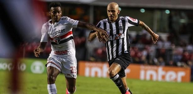 Fábio Santos é o jogador que mais atuou pelo Atlético-MG e vai completar 3 mil minutos