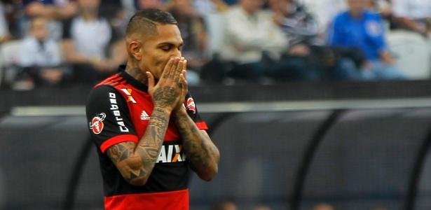 Guerrero se transformou em um desfalque importante no momento difícil do Flamengo