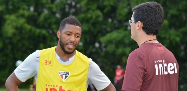 Jucilei tem contrato com o São Paulo somente até o fim de dezembro, mas quer ficar