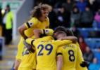 """D. Luiz elogia longevidade de Tite na seleção e avisa: """"Estou à disposição"""" - REUTERS/Russell Cheyne"""