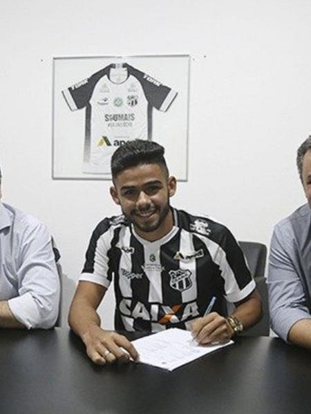 Ceará espera R$ 6 milhões por Felipe Jonatan - Lucas Moraes/CearaSC.com