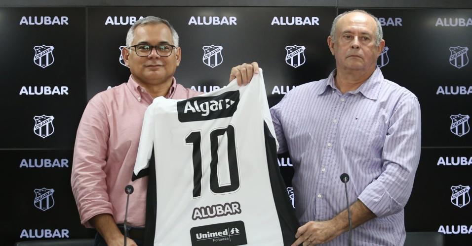 Ceará apresenta camisa com novo patrocinador dccbeb2ffcdbd