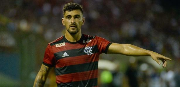 Arrascaeta ficará no banco de reservas ao lado de Gabigol e Bruno Henrique no Flamengo - Alexandre Vidal / Flamengo