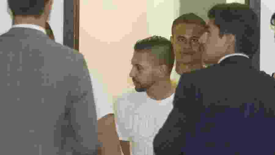 Edison Brittes Júnior na audiência de instrução do caso Daniel  - FRANKLIN FREITAS/ESTADÃO CONTEÚDO