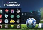 PES 2020 contará com os 20 times da Série B do Brasileiro de 2019 - Divulgação
