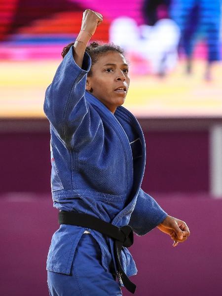 Rafaela Silva ganhou a medalha de ouro na categoria leve pela primeira vez no Pan - Wander Roberto/COB