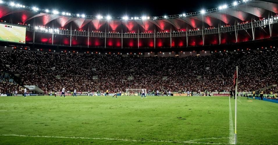 1 - 65.649 pessoas - Flamengo 1 x 0 CSA - 27/10 - Brasileirão - 28ª rodada