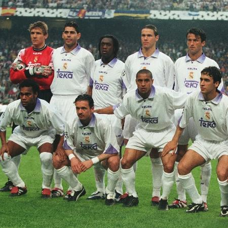 Real Madrid na final da Champions League em 1998 - Real Madrid/Colaborador