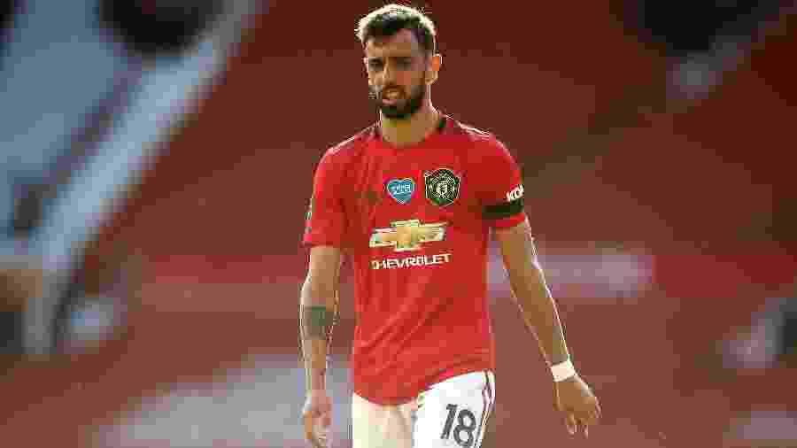 Bruno Fernandes negou problemas no Manchester United - Getty Images