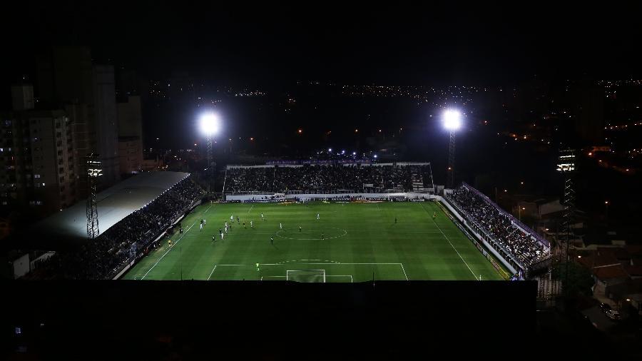 Visão aérea do estádio Nabi Abi Chedid, casa do Red Bull Bragantino - Divulgação/RB Bragantino