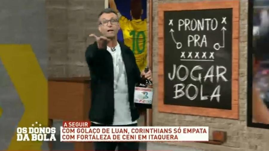 Neto exalta Luan após gol contra o Fortaleza - Reprodução/Band