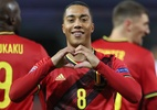 Bélgica vence por 2 a 0 e elimina Inglaterra da Liga das Nações - KENZO TRIBOUILLARD/AFP