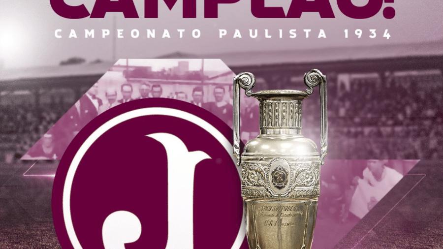 FPF reconhece título Paulista da Juventus após 87 anos - Twitter