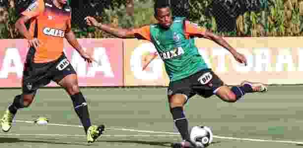 Robinho treinou na Cidade do Galo, mas estreia vai acontecer somente na Libertadores - Bruno Cantini/Clube Atlético Mineiro