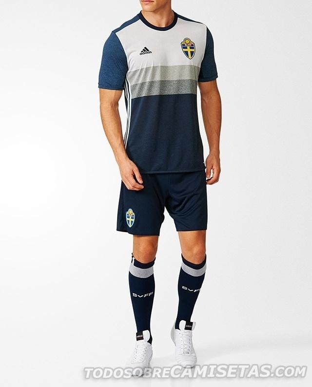 GRUPO E: Suécia (camisa reserva, adidas)