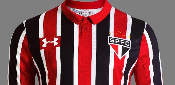 Uniforme número dois do São Paulo